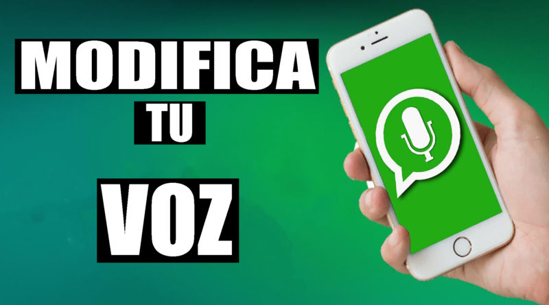 cambiar voz whatsapp