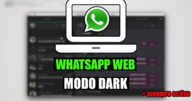 whatsapp web modo nocturno