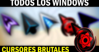 CURSORES para windows