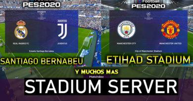 stadium server pes 2020