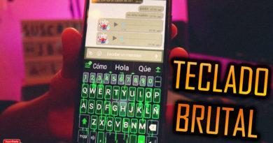 teclado brutal con temas