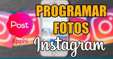 PROGRAMAR TUS FOTOS PARA INSTAGRAM
