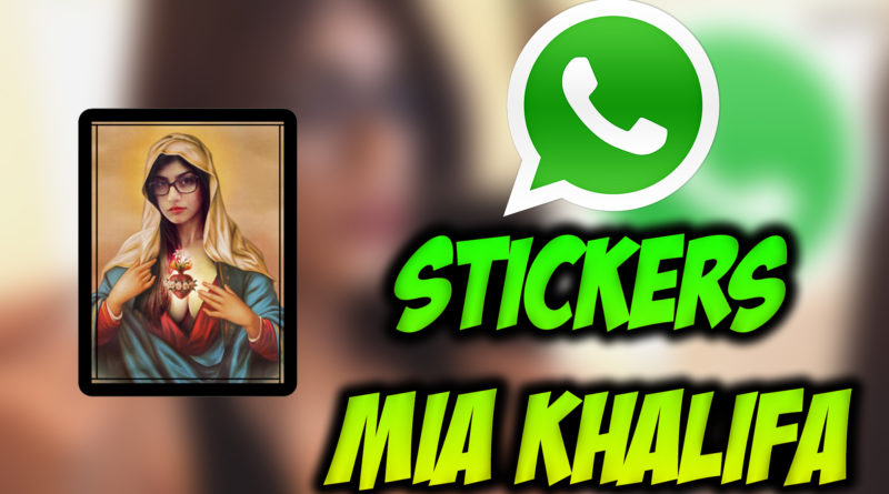 stickers de mia khalifa
