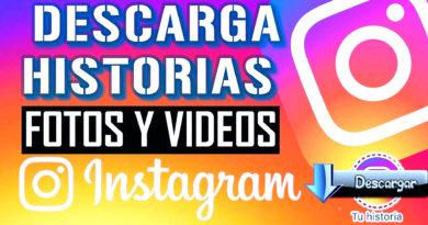 descargar historias en instagram