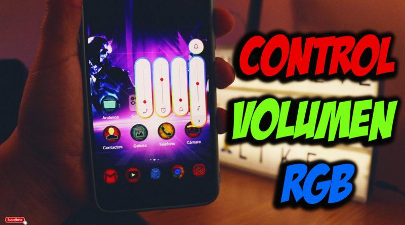 Estilos de control de volumen