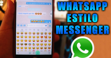 whatsapp estilo messenger
