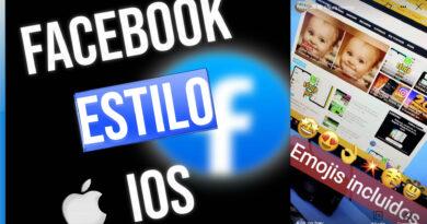 Facebook estilo ios en android